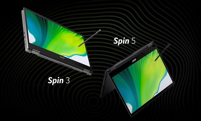 Ноутбуки-трансформеры Acer Spin: уникальные особенности серии устройств 2–в–1