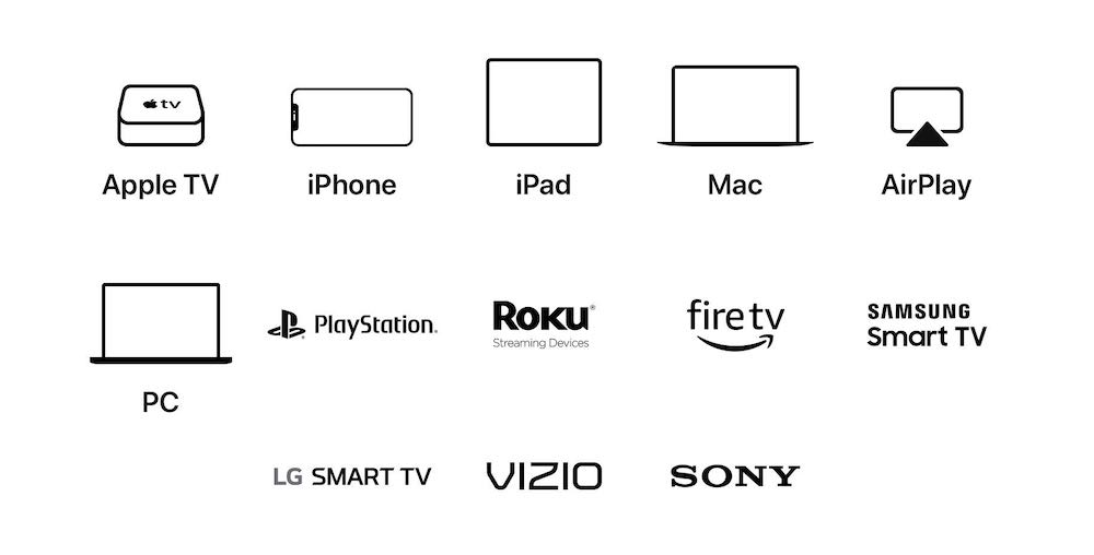 Apple TV App Platforms