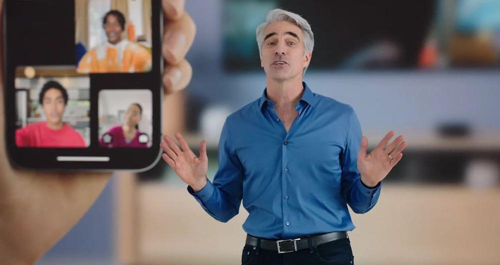 Apple WWDC 2021 Facetime
