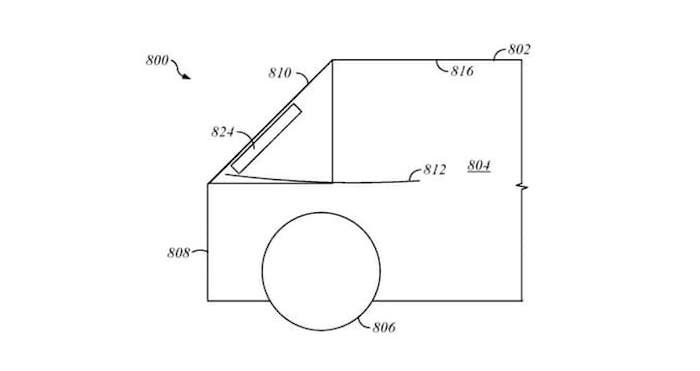Apple Car Airbags Patent
