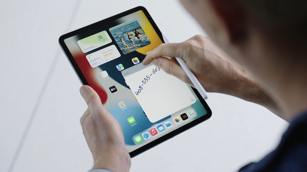 Apple iPadOS 15 Quick Notes