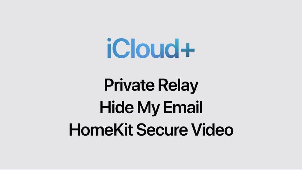 Apple iCloud+ Features