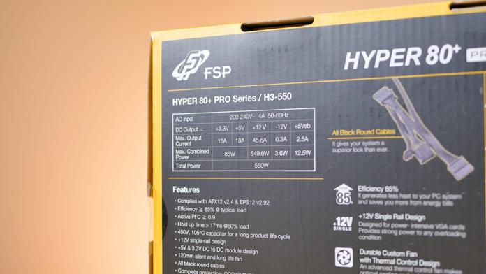 FSP Hyper 80+ 550W