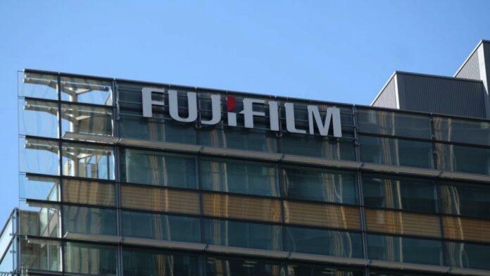 Fujifilm Logo Sign