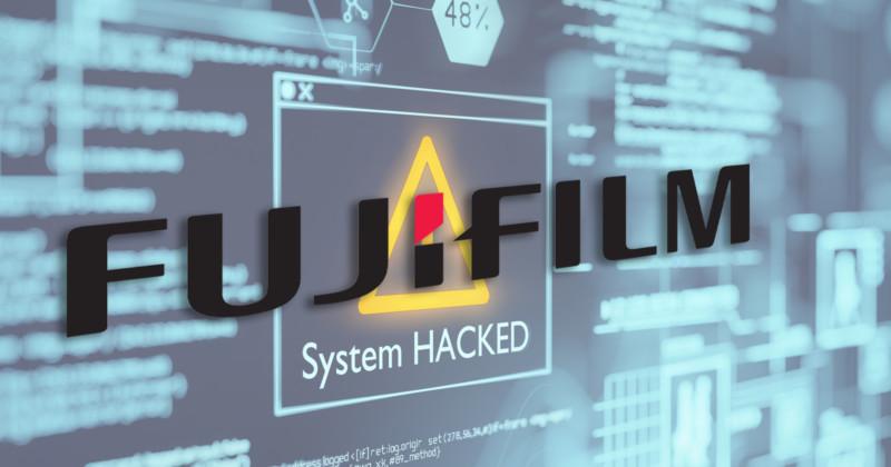 Fujifilm Shuts Down Servers