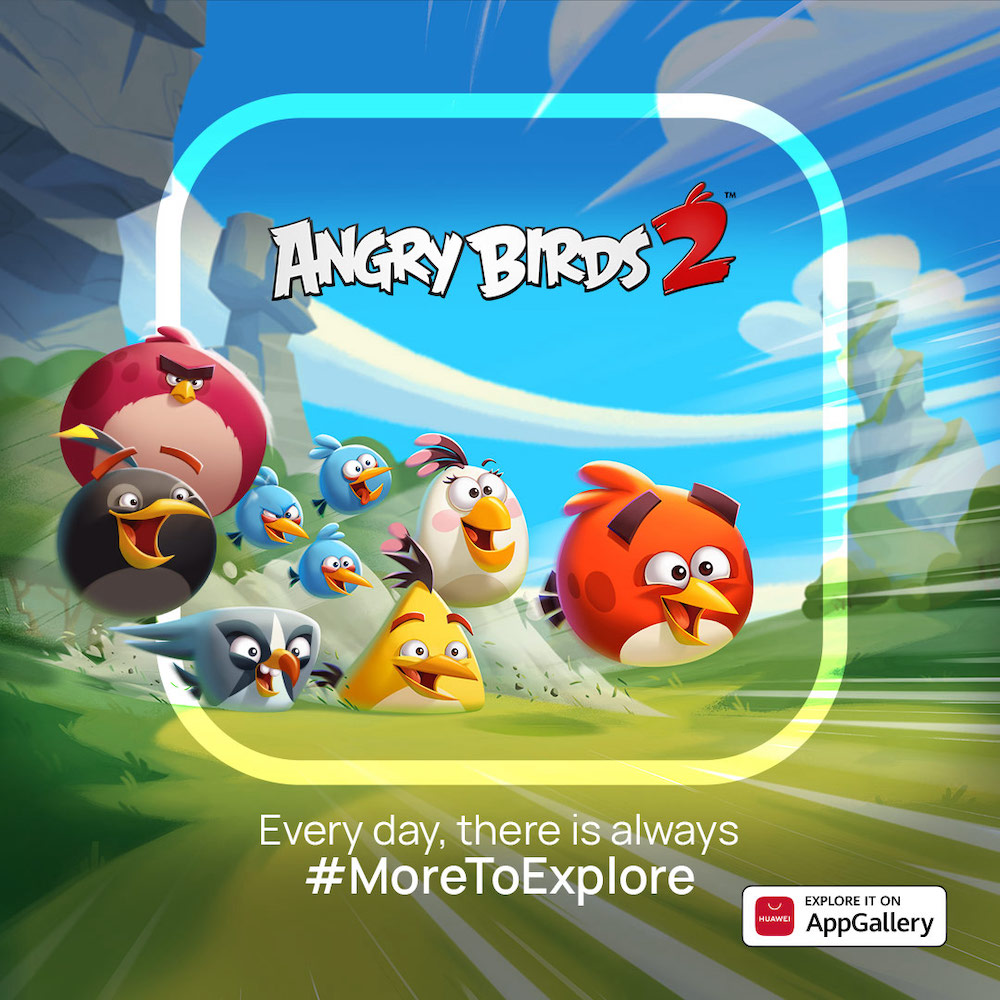 Huawei AppGallery Angry Birds 2