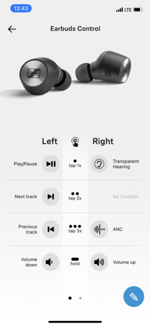 Sennheiser Momentum True Wireless 2 app