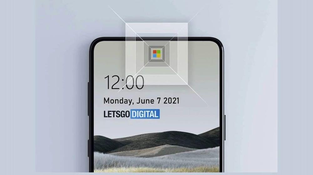 Microsoft Under Display Camera