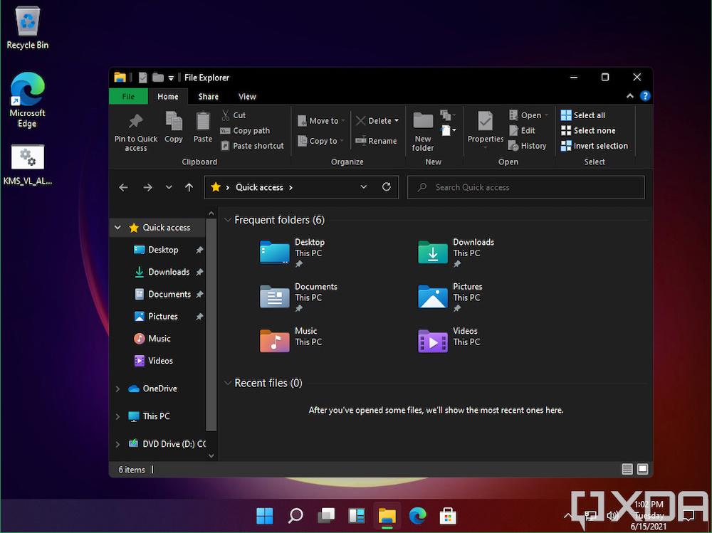 Microsoft Windows 11 Dark Mode