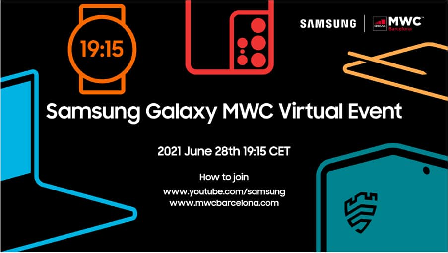 Samsung MWC 2021 Event Invite