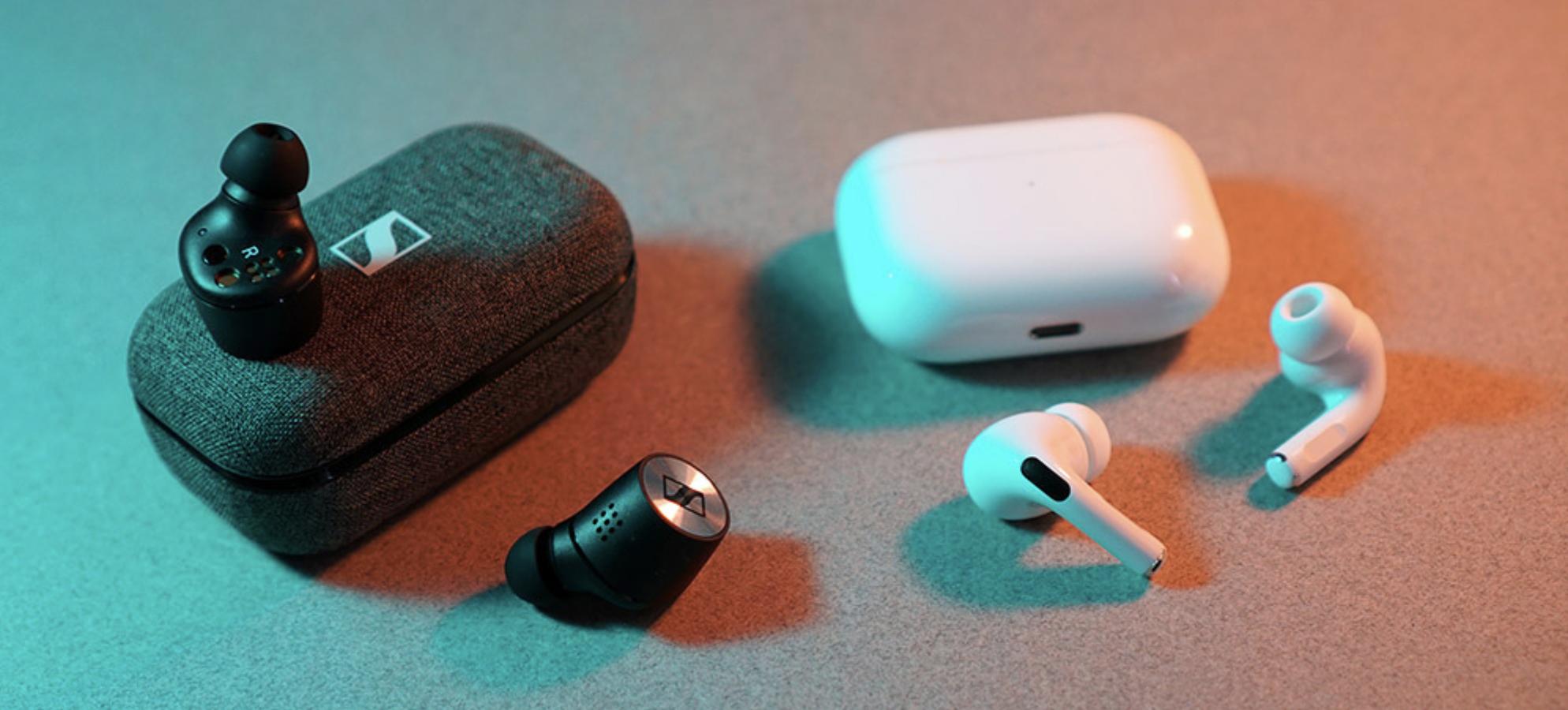 Sennheiser Momentum True Wireless 2 и Apple AirPods Pro