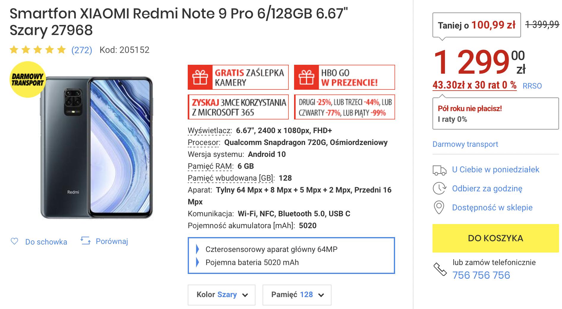 Kolejne Flash Sale od Xiaomi – smartfony taniej o 100-200 zł!