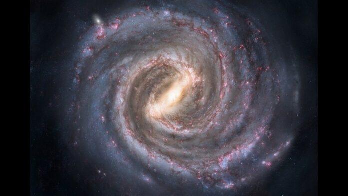 milky way a barred spiral galaxy