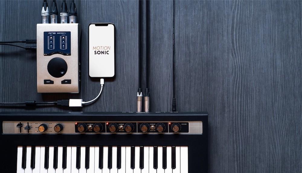 Sony Motion Sonic App