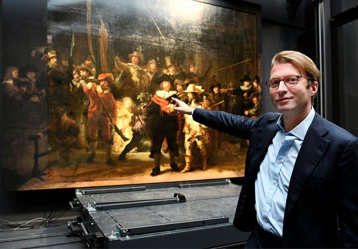 Rembrandt 'Night Watch' AI