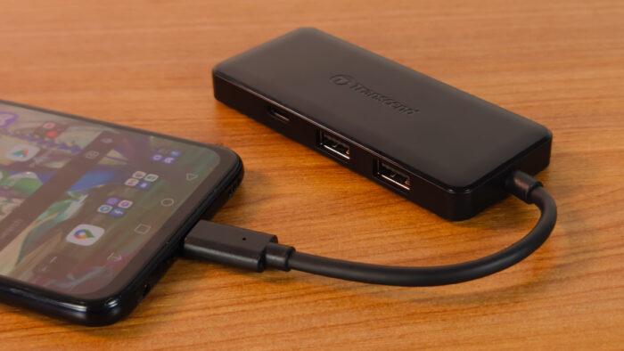 Обзор хаба Transcend HUB5C: USB-олдскул!