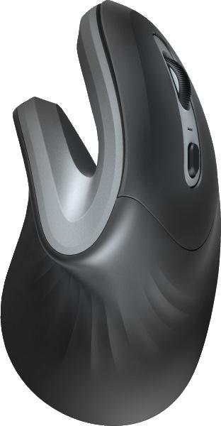 Вертикальная мышка Trust Verro Ergonomic Wireless Mouse