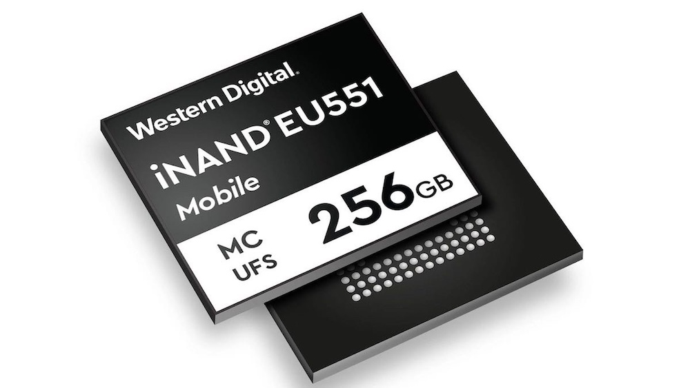 Western Digital iNAND EU551 MCUFS 256GB