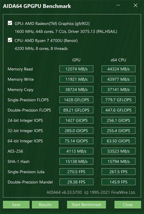 ASUS Mini PC PN50 - Benchmarks