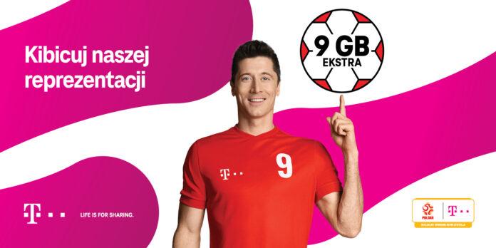 bezpłatny pakiet 9 GB dla klientów T-Mobile