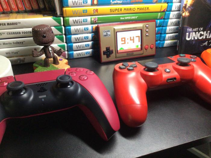 Контроллеры DualSense с новыми расцветками