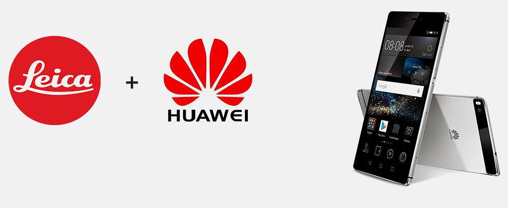смартфоны Huawei + Leica