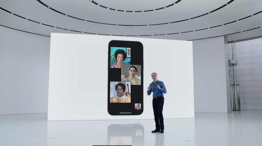 iOS 15 FaceTime Spatial Audio
