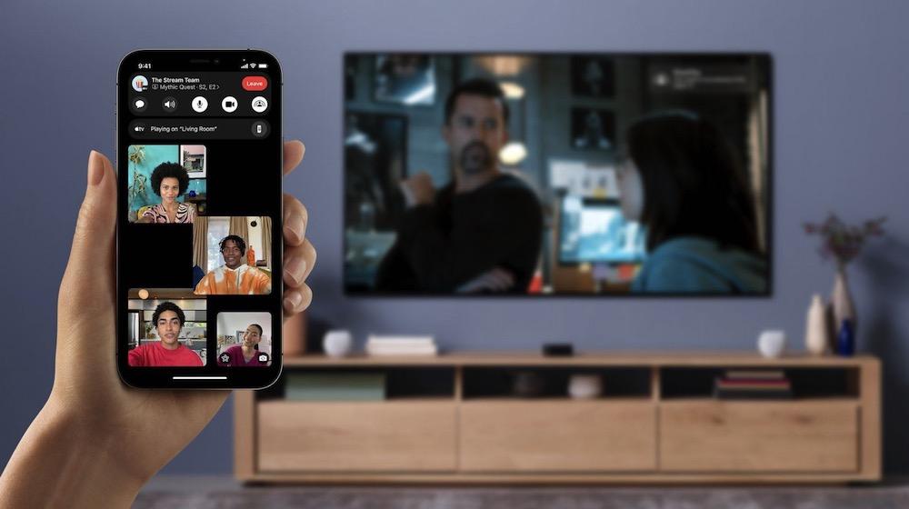 iOS 15 SharePlay Apple TV