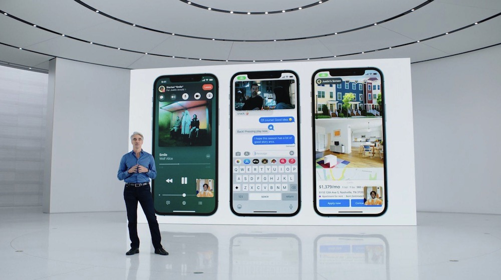 iOS 15 Screen Sharing