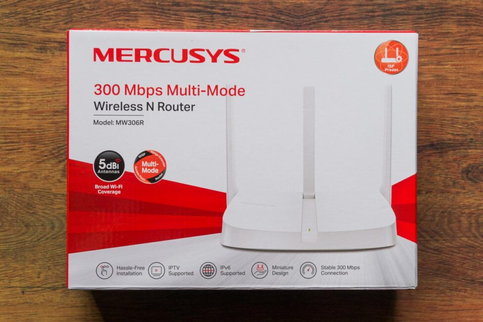 Mercusys MW306R