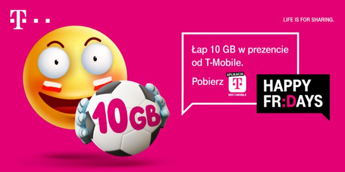 Odbierz bezpłatne 10 GB na EURO 2020 od T-Mobile