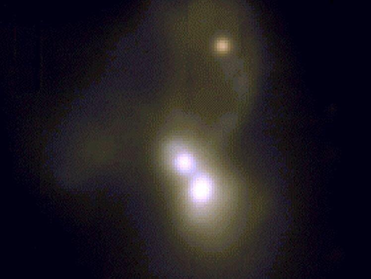 rare triple galaxy