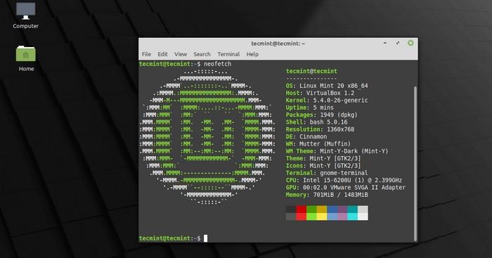 Linux Mint 20.2 Uma