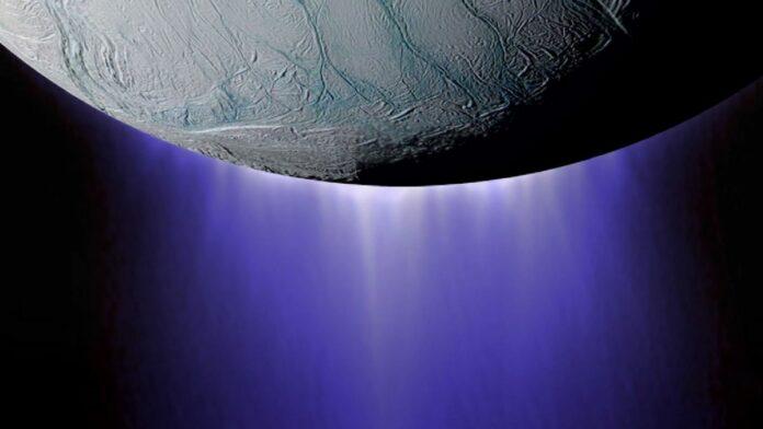methane enceladus