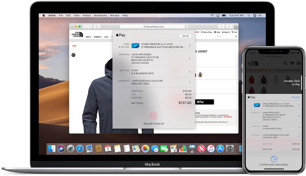 Apple Pay macOS iOS