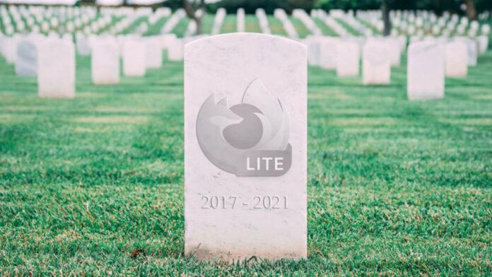 Firefox Lite Is Dead