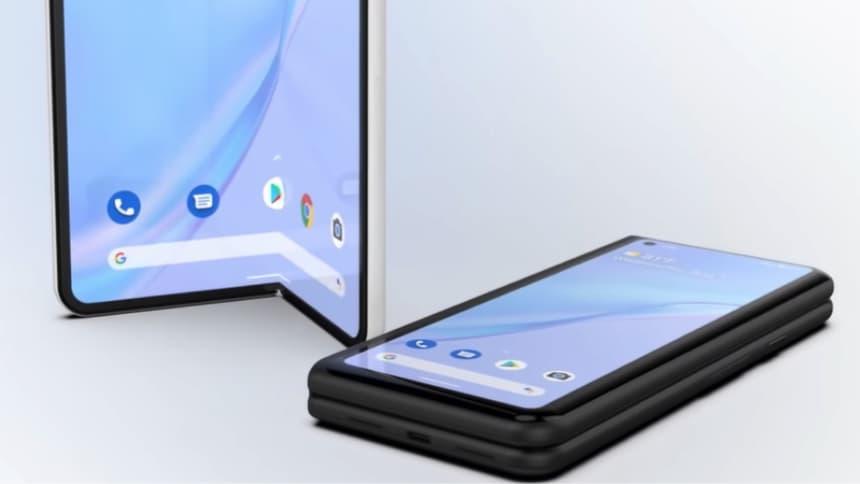 Foldable phone LTPO