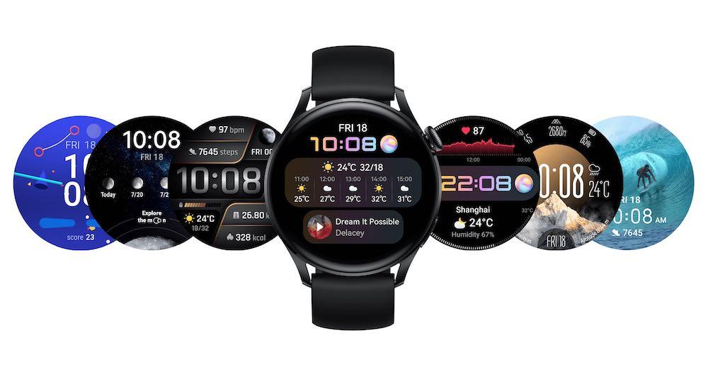 Huawei Watch 3 Series faces