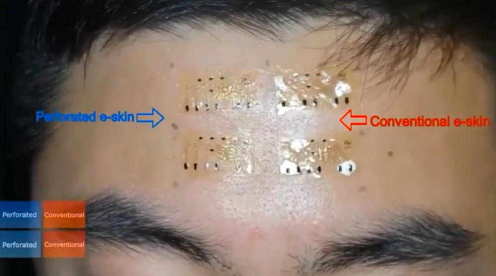 MIT Testing E-Skin
