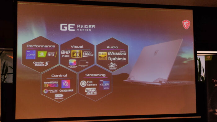 MSI Intel Laptops