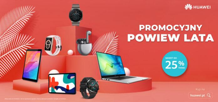 Letnie promocje od Huawei