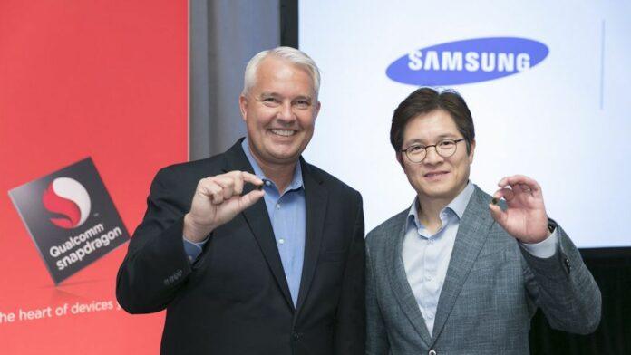 Qualcomm Samsung Logos