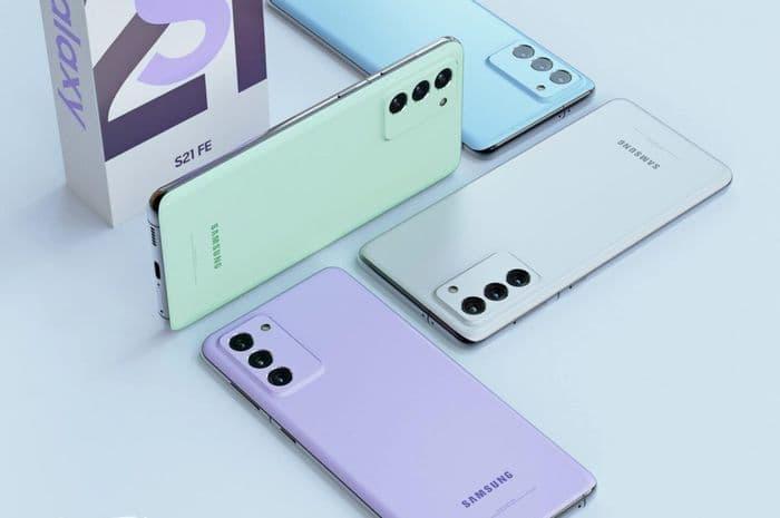Samsung Galaxy S21 FE mockup