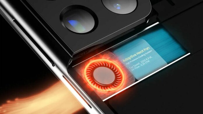 Samsung Galaxy S22 Ultra Adaptive Fan