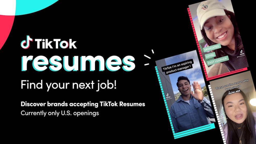 TikTok Resume