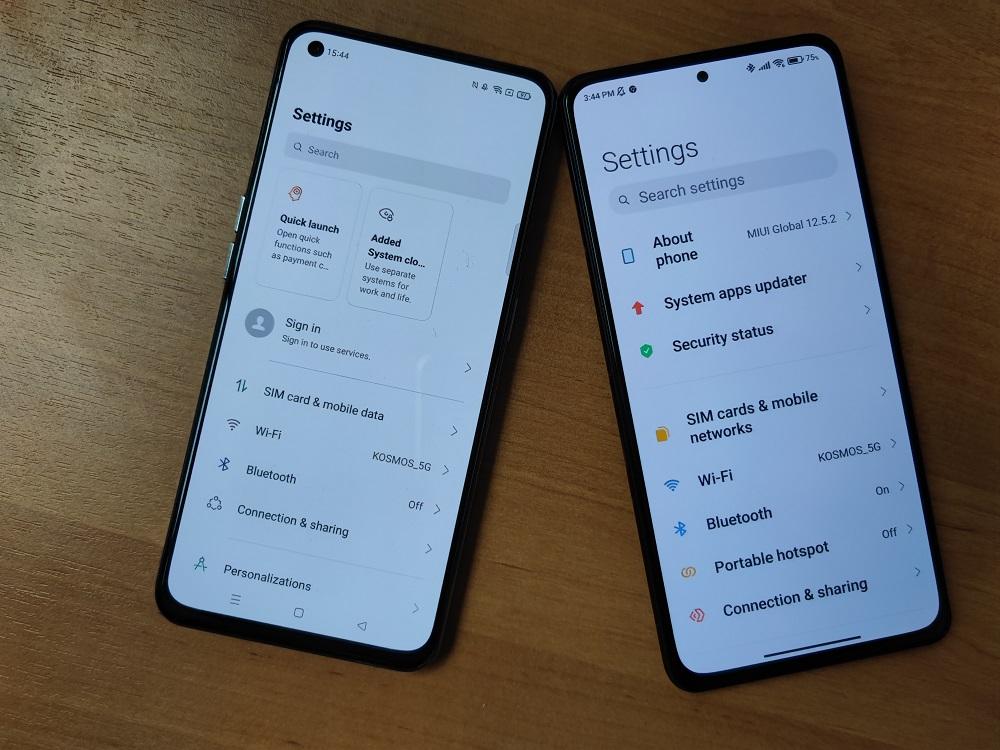 Xiaomi Mi 11i vs realme GT