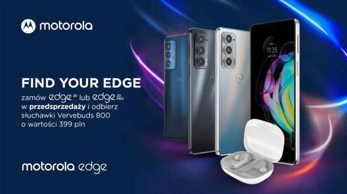 przedsprzedaż nowych smartfonów Motorola Edge 20 Pro oraz Edge 20