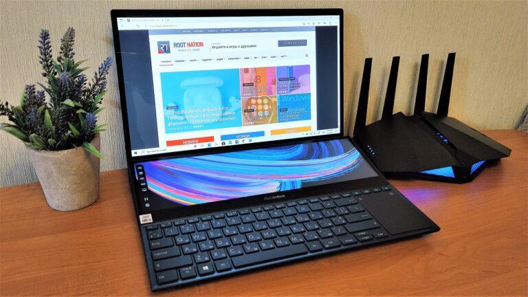 Обзор ASUS ZenBook Pro Duo UX582: 4K OLED, GeForce RTX 3070 и… 2 экрана