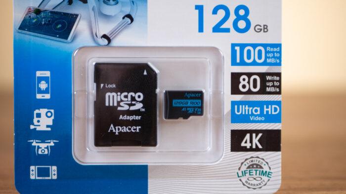 Apacer R100 UHS-I U3 V30 A1 128GB