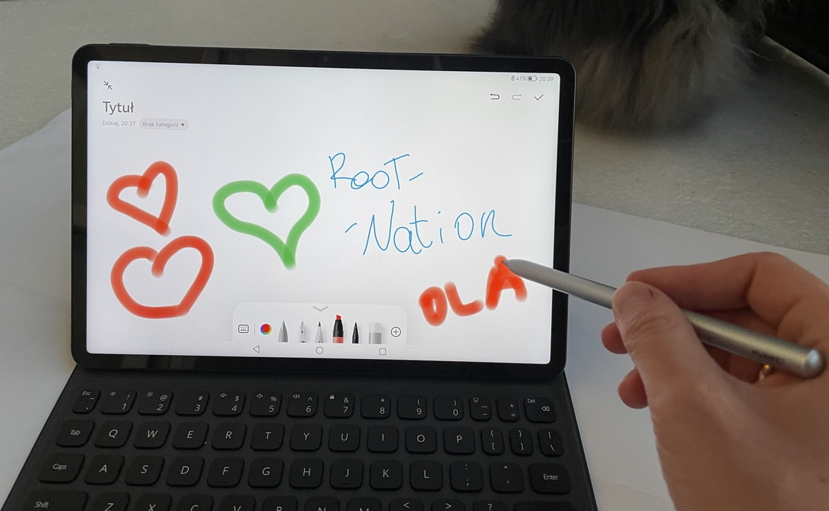 Huawei MatePad 11 stylus